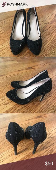 Black Aldo Heels Black Aldo heels worn once for homecoming. Make an offer Aldo Shoes Heels