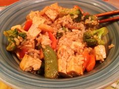 Sesame Vegetable Stir-Fry #recipe #vegetarian via @LoraHogan
