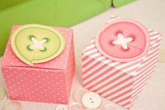 SEW CUTE Button Printable Favor box for lalaloopsy party