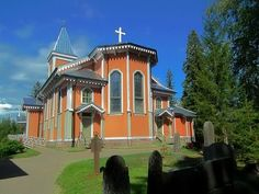 Toholampi church, central Osthrobothnia  - photo merisilta
