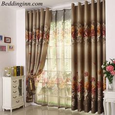 City By The Sea 3d Painting Blackout Curtains Office Bedding Room Living Room Sunshade Window Curtain Bedding Custom-made Size Relieving Heat And Thirst. Home & Garden