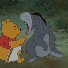 Screencap Gallery for Winnie the Pooh Bluray, Disney Classics, Winnie the Pooh). During an ordinary day in Hundred Acre Wood, Winnie the Pooh sets out to find some honey. Winnie The Pooh Quotes, Winnie The Pooh Friends, Disney Winnie The Pooh, Eeyore Quotes, Disney Animation, Disney Pixar, Disney Characters, Walt Disney, Pooh Bear