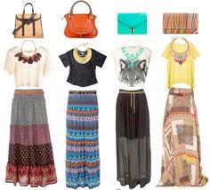 Maxi necklace/ Maxi skirt ❤