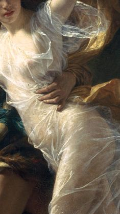 The Stars, Sun, Moon, all shrink away — Details from The Storm by Pierre-Auguste Cot...