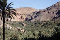 Oasis of Aguinan TaTa, Morocco