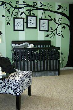 Hermosa decoracion para el cuarto del bebe