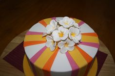 Louise's Frangipani Cake, via Flickr.