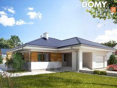 Obrót projektu Atut 2 Architecture, House Plans, Outdoor Structures, How To Plan, Studio, House Styles, Outdoor Decor, Home Decor, Moda Masculina