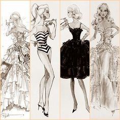 Fashion Illustration, via Flickr.