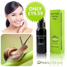Revitalize your skin with Cougar Beauty Snail Cream. Now ONLY £19.59! BUY IT HERE -> http://www.snailcreamshop.co.uk/cougar-beauty-snail-products/cougar-beauty-miracle-snail-slime-day-cream-50ml.html #facecream #beauty #skincare #loveit #sale