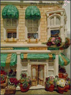 simply vintageous...by Suzan:  Brian Baker's Deja Vu collection - Flower Shop