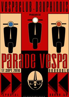 vespa #scooter#lambretta#poster#affiche#graphisme#