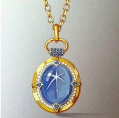 Reminiscing over our #oneofakind #Locket #tbt #whatsinmylocket #sapphire #gems…