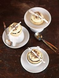 white chocolate coffee mousse