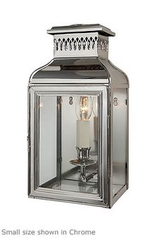 Exterior Mudroom Entry; French Wall Lantern - Product WL 10