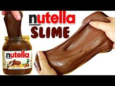 Comment faire le Nutella Slime ! Ody Milani - YouTube