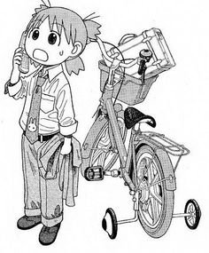 """Yotsuba&! """"I gots tons of work to do, I can't go to the sand box. GORSH!"""""""