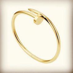 Disponible pulsera tipo 'clavo de cartier' en acero blanco, amarillo y rosa! #acero #oro #rosa #plata #clavo #Padgram