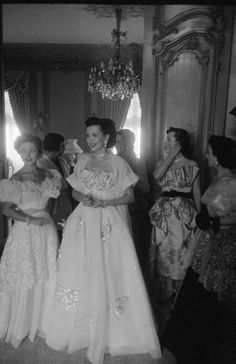 Vintage evening gowns