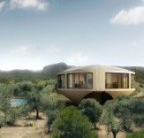 Panoramic Round House in Spain has a 360-degree view of the Spanish countryside