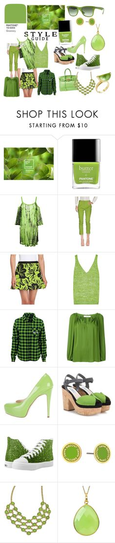 """""""Pantone Color of the Year: Greenery"""" by alainab2231 on Polyvore featuring Cecilia Pradomurion, M Missoni, MICHAEL Michael Kors, Missoni, Dorothee Schumacher, Brian Atwood, Prada, Marc Jacobs, 1928 and Amrapali"""