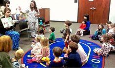 Pajama Jammy Jam Family Storytime Cincinnati, Ohio  #Kids #Events