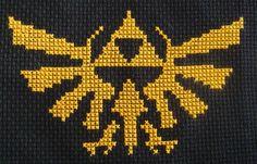 Legend of Zelda Triforce Pattern