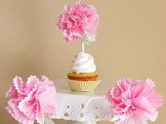 Toppers de moldes de papel en Manualidades para decorar y detalles de decoración del hogar, fiestas y eventos