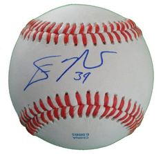 Devin Mesoraco Autographed ROLB Baseball, Cincinnati Reds, Proof Photo by Southwestconnection-Memorabilia. $54.99. This is a Devin Mesoraco autographed Rawlings official league baseball. Devin signed the ball in blue ballpoint pen. Check out the photo of Devin signing for us. Proof photo is included for free with purchase. Please click on images to enlarge. 1