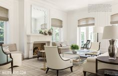 As seen in the 2015 Spring issue of Milieu Magazine.  Designer: Thomas Hamel ; Roman Shade: KW92 Pacific Basin