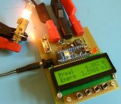 DIY wattmeter with an Arduino