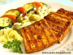 Grilované tofu v marináde Tempeh, Tofu, Seitan, French Toast, Veggies, Keto, Breakfast, Fitness, Morning Coffee
