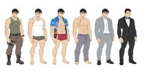 Body Reference Drawing, Guy Drawing, Drawing Poses, Comic Character, Character Concept, Character Reference, Age Progression, Baptism Outfit, Character Design Animation