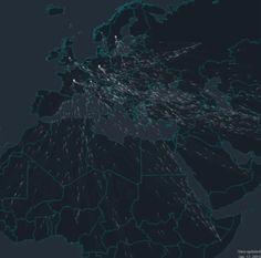 metrocosmblog:  The flow of asylum seekers into Europe Source: Scientific American