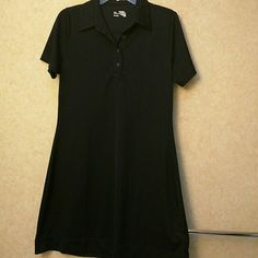 Jockey tennis dress in navy Polo style tennis dress.  Like new condition. 100% polyester. Beautiful. Jockey Dresses