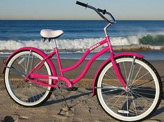 BEACH CRUISER. I WILL GET ONE...EVENTUALLY with a baby seat on the back and basket on the front!