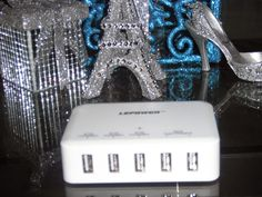 Britsy's Reviews: Review: LePower 40W 5 Port Desktop USB charger station