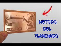 Circuito impreso con el METODO DEL PLANCHADO/Ideatronic - YouTube