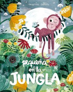 Es difícil ser el pequeño en una gran pandilla, y más aún en la inmensa jungla... Pero cuanto más pequeño eres, más grandes son tus aventuras y más emocionantes tus retos. Marta Altés, una de las autoras españolas de libro ...