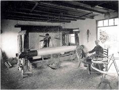 Wevers en weefgetouwen in de 17de en 18de eeuw | RHCe - Regionaal Historisch Centrum Eindhoven