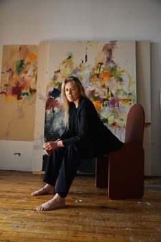 Studio Visit: Colleen Herman - DORÉ Long Relationship, First Snow, Easy To Love, Artist Life, Wool Suit, Morning Light, Source Of Inspiration, Your Paintings, Screen Shot