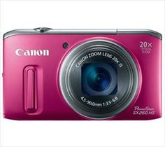 PowerShot SX260HS Compact Zoom Digital Camera...or any decent small digital camera.