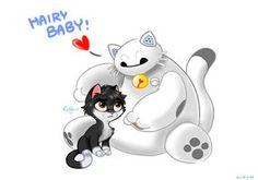 Baymax and Hiro - Big Hero 6 fanart