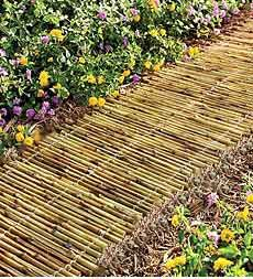 Bamboo Garden Pathway-nice way to use all that overgrown Bamboo