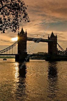 Tower Bridge and The River Thames #tower #bridge #photography #print