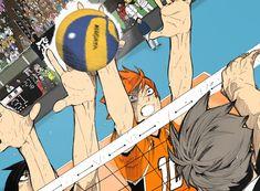 Haikyuu Karasuno, Haikyuu Manga, Hinata Shouyou, Haikyuu Funny, Kuroo, Kagehina, Anime Manga, Haikyuu Volleyball, Volleyball Anime