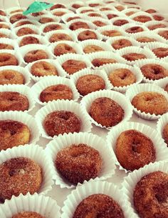 Cinnamon & Sugar www.mahalosminidonuts.com Most unique dessert caterer in Iowa.  Hot mini donuts made LIVE at your event.  Meetings.  Parties.  Graduation.  Wedding.  Baby Shower.