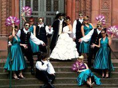Masquerade Wedding Party