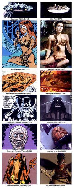 """Valerian & Laureline""'s influence on Star Wars"