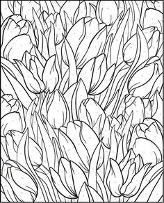 Kleurplaten Volwassenen Op Nummer.24 Beste Afbeeldingen Van Kleurplaten Volwassenen Bloemen Paginas